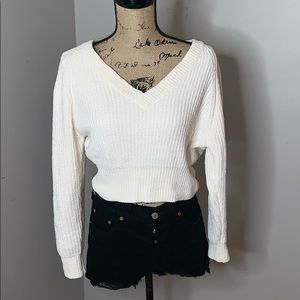 Urban Outfitters cropped sweater, size XS